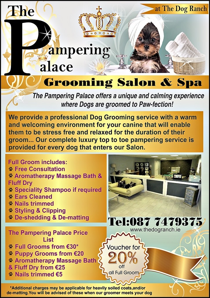 The Dog Ranch Grooming Salon 'The Pampering Palace'